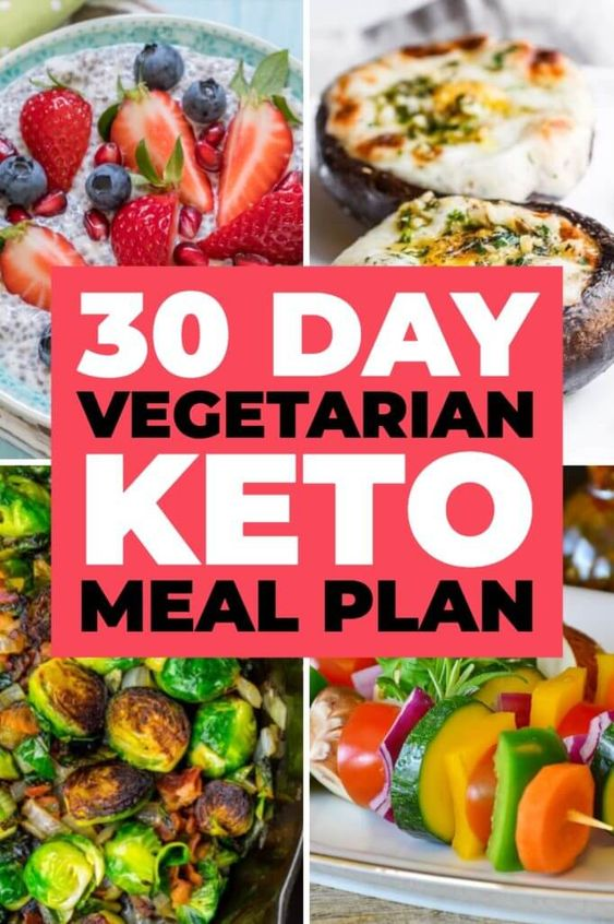 Total Vegetarian Keto Diet Guide & Sample Meal Plan For Beginners