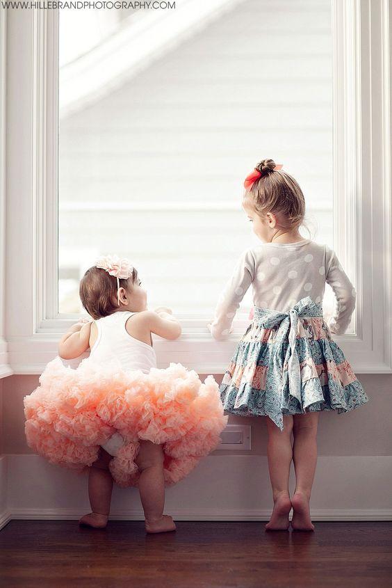 little sister, big sister. cutest.ever.
