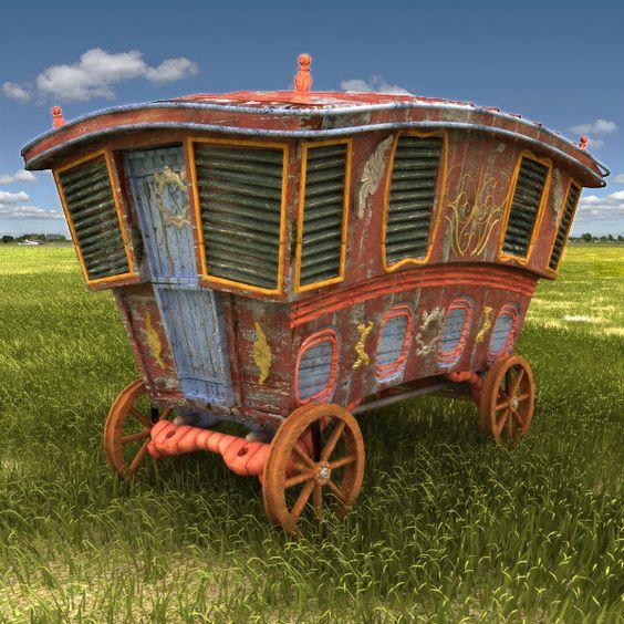 circus caravan