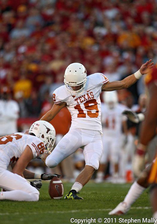 Justin Tucker Texas Longhorns Football Ricky Williams
