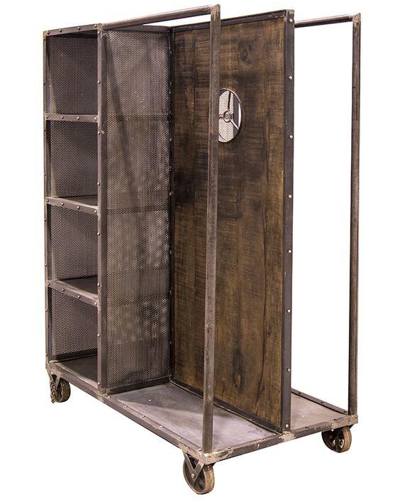 Fotos muebles vintage industrial para tiendas de ropa for Muebles selec galdakao