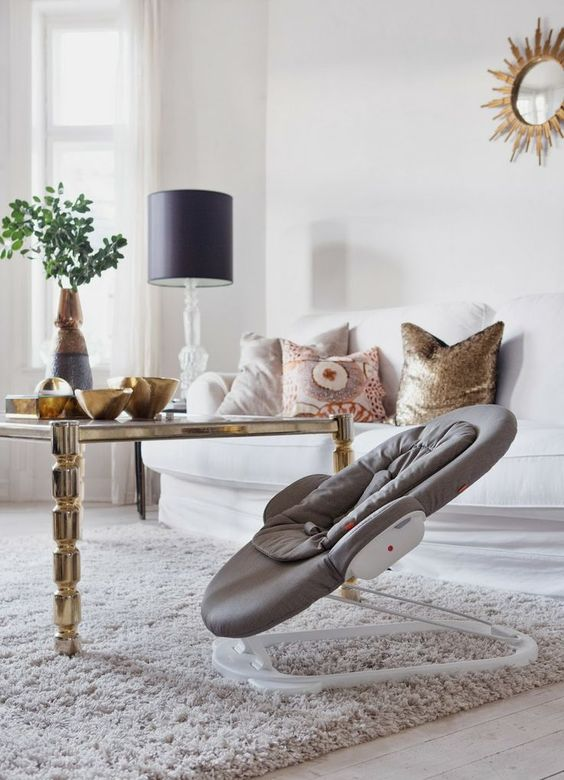 Perfectly fits your baby & your decor. Stokke Steps Bouncer