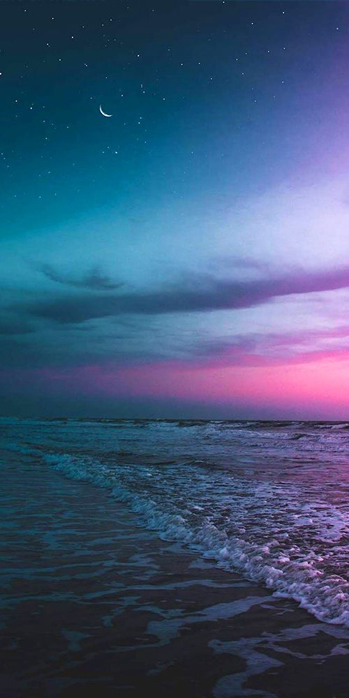 Pin On Travel Pic Of The Day Evening beach scenery wallpaper