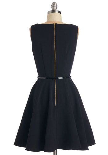 Luck Be a Lady Dress in Black | Mod Retro Vintage Dresses | ModCloth.com