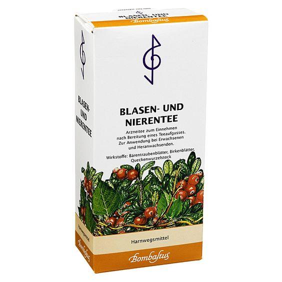 Blasen-Nieren-Tee, 75 g   PZN: 03924816   INHALTSTOFFE: Bärentraubenblätter, Birkenblätter, Queckenwurzelstock, Brennesselkraut, Ringelblumenblüten   HERSTELLER: Bombastus-Werke AG   • Harnwegsmittel • Für Erwachsene und Heranwachsende >> http://www.juvalis.de/3924816/blasen-und-nierentee-bombastus www.juvalis.de/... << #Apotheke #Tee