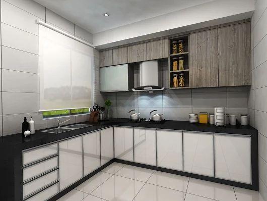Kitchen Tiles Design Malaysia kitchen design 厨房设计 @ kulai & johor bahru, johor, malaysia