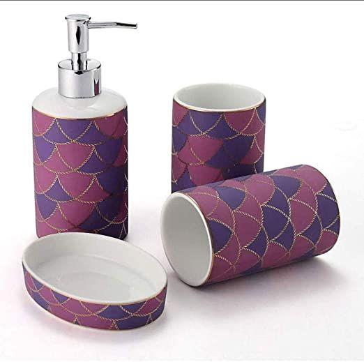 Xilinshop Lotion Dispenser Bathroom Accessories Set European Style Ceramic Bathroom Lotion Dispenser Bathroom Bathroom Accessories Sets Bathroom Soap Dispenser