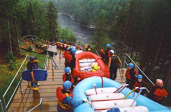#RaftingMaine Kennebec River - 9 Best Whitewater Rafting Adventures in the U.S. | Fodor's Travel