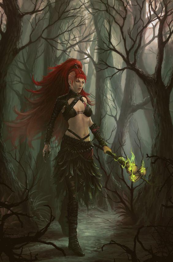 Witch-Outcast by Peter-Ortiz.deviantart.com on @DeviantArt