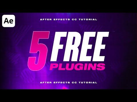 5 5 Best Free After Effects Plugins 2020 Youtube Free Plugins Plugins After Effects