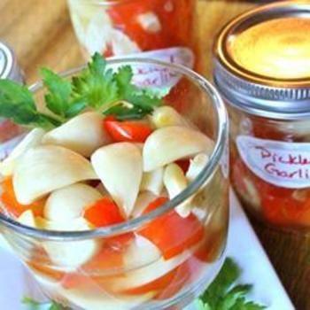Pickled Garlic: