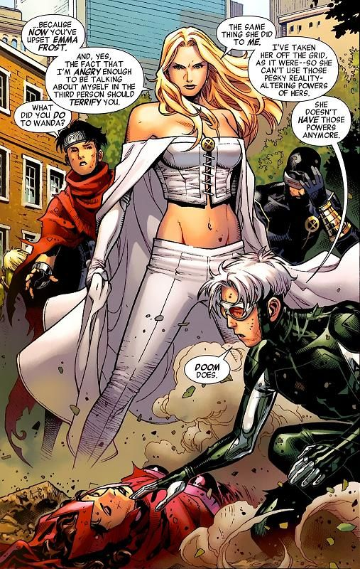 Emma Frost | Scarlet Witch | Quicksilver...