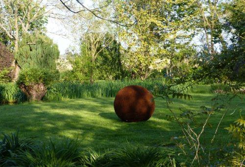 Sphères fil de fer ; boules en fer - Atmosfleur Créations