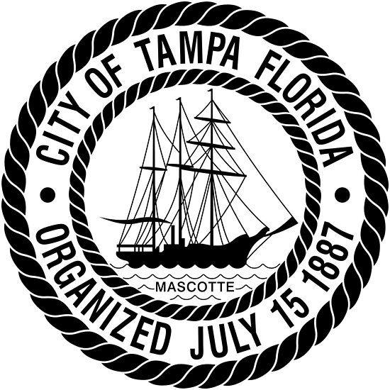 Seal Of Tampa Florida Thebigguava Tampanian Tampan Tampeno Tampabay Tampa Florida Bumper Decals Tampa