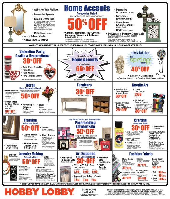 Power Hobby Coupon - motingsyti.tk 40% off 40% Off Hobby Lobby Coupon, Weekly Ad - motingsyti.tk 40% off Get Deal Find the best of Hobby Lobby promo codes, coupons, online deals and in-store sales for August