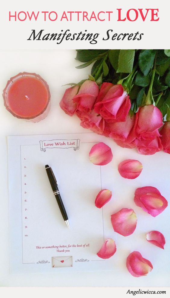 Love Manifestation Ritual to attract romantic love into your life!