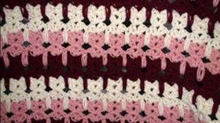 Crochet Geek - Abstract Crochet Cats, via YouTube.   LOVE THIS.