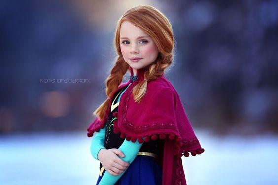 Frozen Anna by Katie Andelman