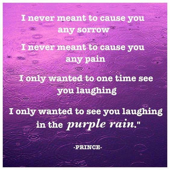 Prince - purple rain song lyrics - Great Song, Great Album, Great movie.