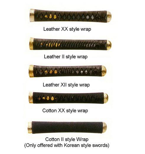 Custom Tsuka Handle Wrap Styles Jpg 491 215 520 Knotty