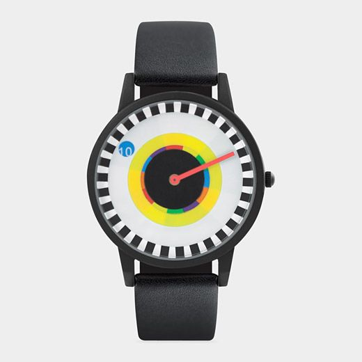 Milton Glaser Sprocket Watch- Quirky but fun design for a watch! Nice colors too.