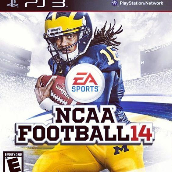 Denard on the cover of EA SPORTS NCAA Football '14! Go blue!