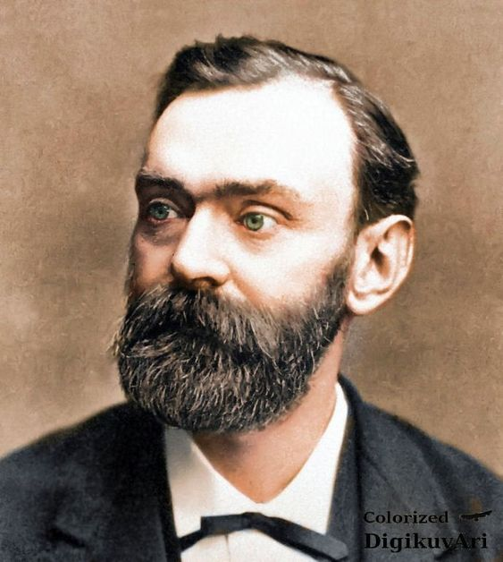 Reddit - Colorization - Alfred Nobel (1833 - 1896)