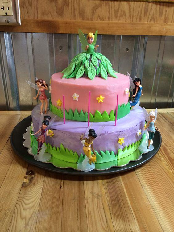 Tinkerbell cake 2014