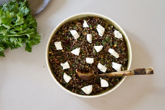 Crunchy wild rice salad - Keke