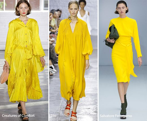 Spring/ Summer 2017 Color Trends: Primrose Yellow: