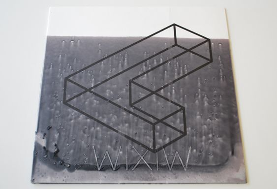 Unusual and and actually very beautiful to behold in the flesh is the special vinyl edition of Liars latest album WIXIW. The sleeve has been screenprinted and then dipped in black wax.