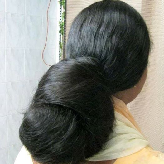 What A Beautiful Large Low Bun! Care However Should Be