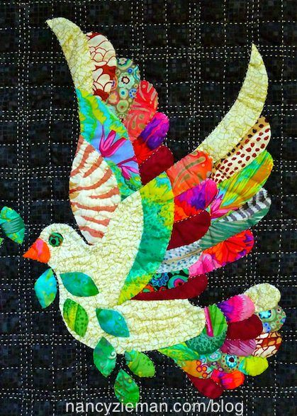 Love The Dove A Free Quilt Pattern Bird Quilt
