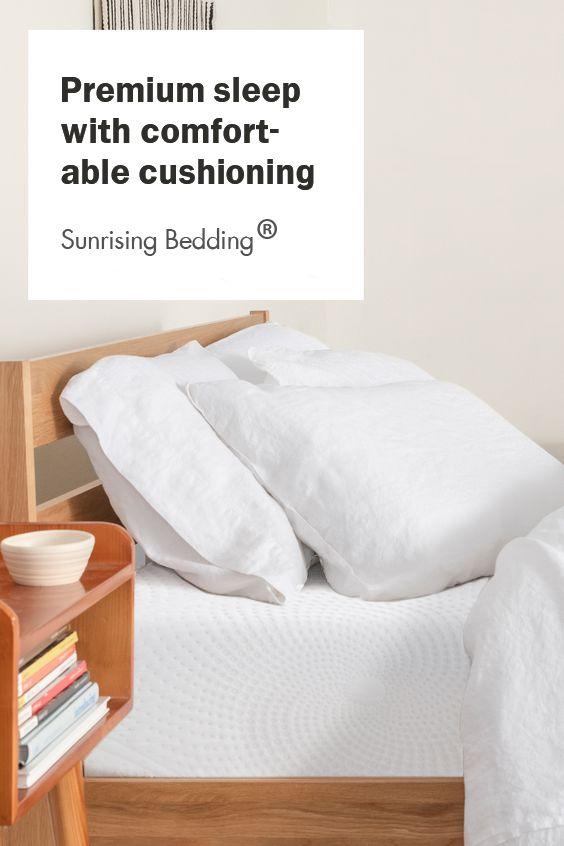 Sunrising Bedding 12 Inch Cool Gel Memory Foam Twin Mattress Firm Bed In A Box Certipur Us Certified Foam No Harmful Chemicals 120 Night Trial 20 Year Warranty Ikea Hack Ikea Storage Box Bed