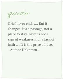 For all of us who miss those we have lost...especially dedicated to someone I love who has lost so much this past year and handled loss with such grace....