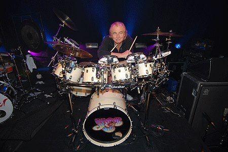 Alan White Drummer | ALAN WHITE- Drumlegende (Yes) bei den Trommeltagen in Ludwigsburg.