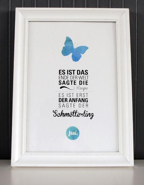 Originaldruck - Der Anfang - Druck von Formart - ein Designerstück von Formart-Zeit-fuer-schoenes bei DaWanda