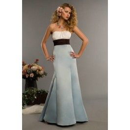 Shop Sheath/Mermaind Sweetheart Sleeveless Empire Floor-length Taffeta Celebrity Dresses online - Discount available!