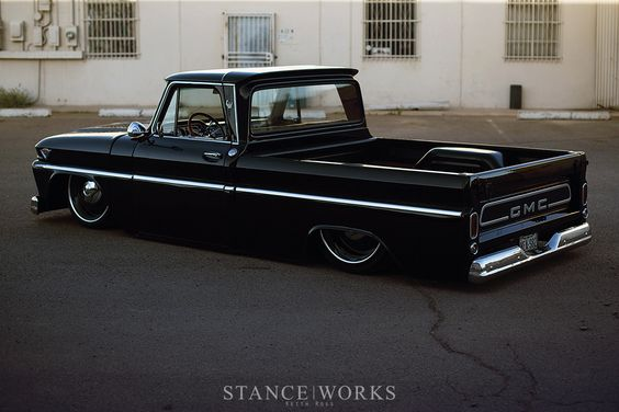 Dave Cantrell's 1966 C10 GMC Shortbed - Captured by Keith Ross.