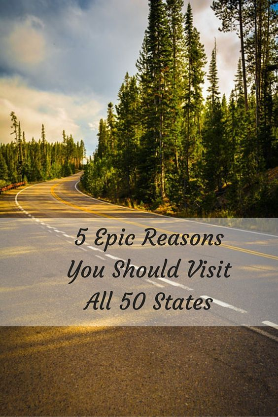 Traveling isn't just about visiting a certain number of countries or checking off items on your imaginary bucket list. At least for us it isn't about either of these! However, when you have the opportunity to achieve a certain goal, you should embrace this. To visit all 50 states, for example, is not something that everyone has the opportunity to do.