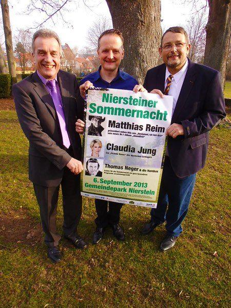 Niersteiner Sommernacht am 6. September im Gemeindepark   Kartenvorverkauf hat begonnen