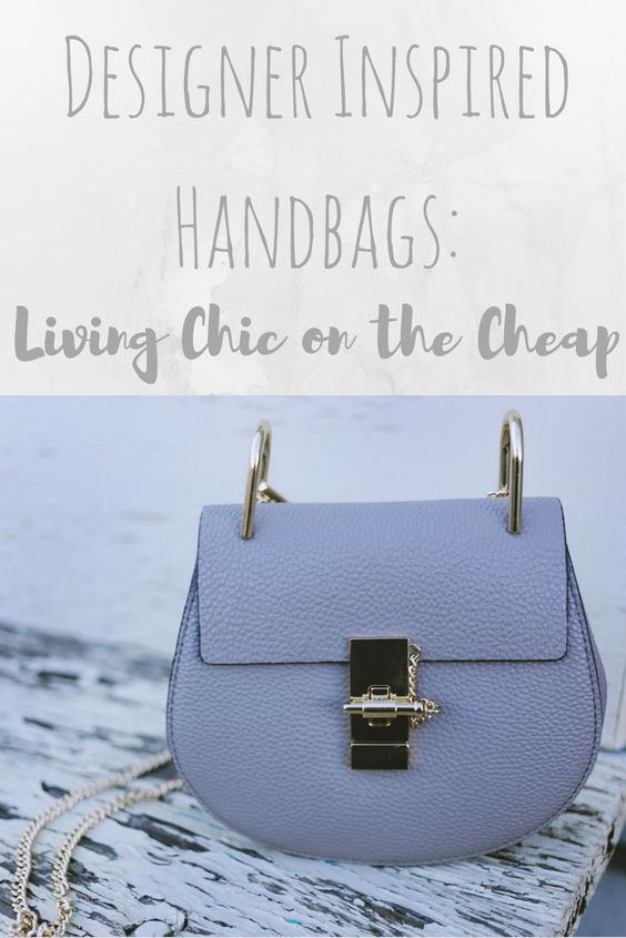 Designer Handbags are too expensive for most of us... so how do we get the look we want, while remaining ethical? Read the blog post now!