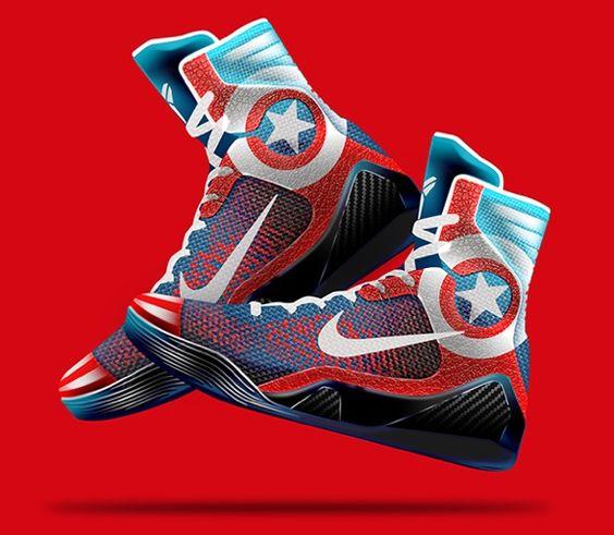 Nike Kobe 9 Elite \u0026#39;Marvel Avengers\u0026#39; Concept