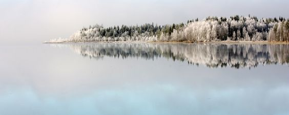 First cold weathers sets magic on nature