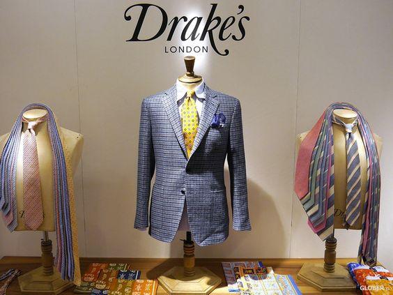 洒落者に愛されるドレイクスのネクタイは、エレガントなスーツスタイル&ビジネスカジュアルにマスト!