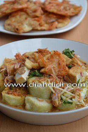 Diah Didi S Kitchen Lontong Tahu Gimbal Udang Resep Masakan Resep Makanan Asia Masakan