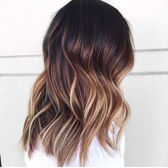 Hair Color // Brunette Balayage