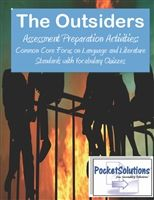 The Outsiders Common Core Assessment Preparation Activity Pack  $