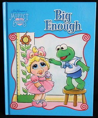Muppet Babies Big Enough (2004, Hardcover)                              …