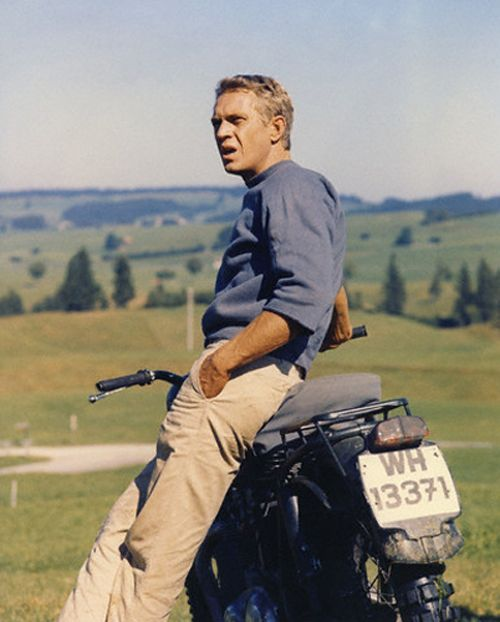 Steve McQueen. The king of cool.
